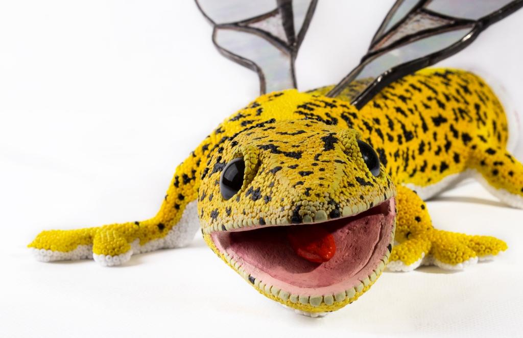 Leopoldo, the hybrid gecko.