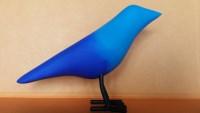 Ocell blau.