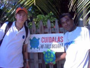 Fundación Jucataco, Playa Ventura, Guerrero, Mexico, March 2000.