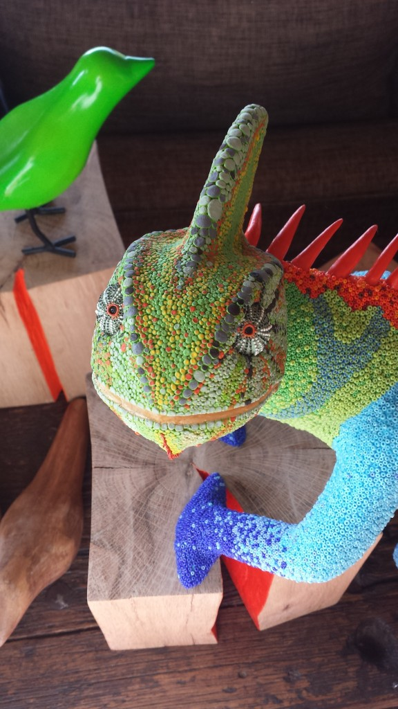 Mimus, an award-winning hybrid chameleon
