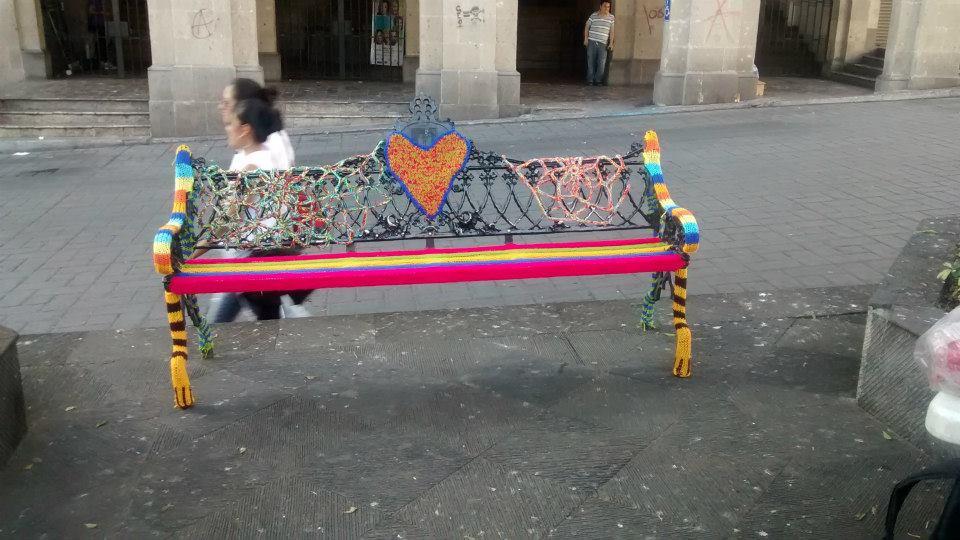 Historias de Estambres - un pedacito por Morelos. Photo by Ann Mari Castell.